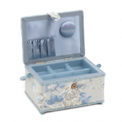 Premium  Sewing Box in Porcelain Print